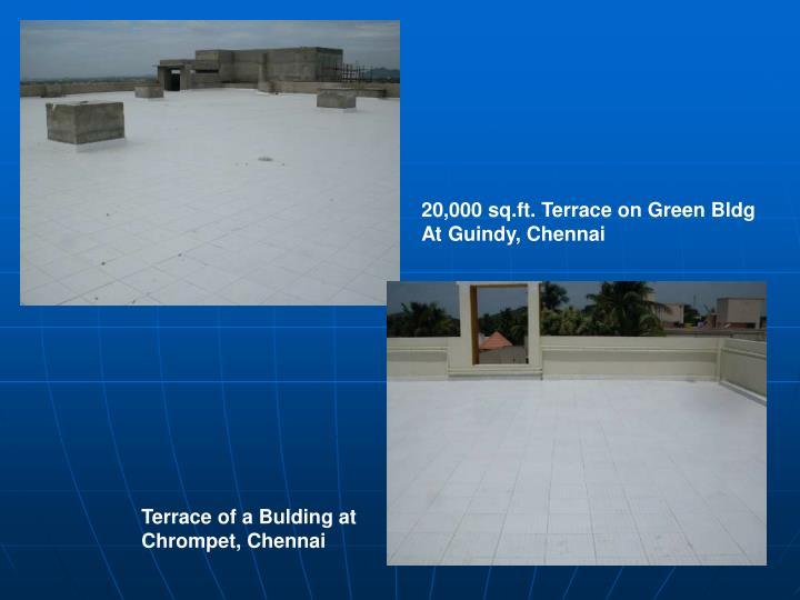 20,000 sq.ft. Terrace on Green Bldg