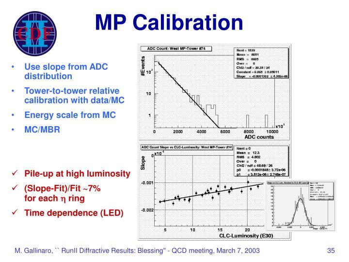 MP Calibration