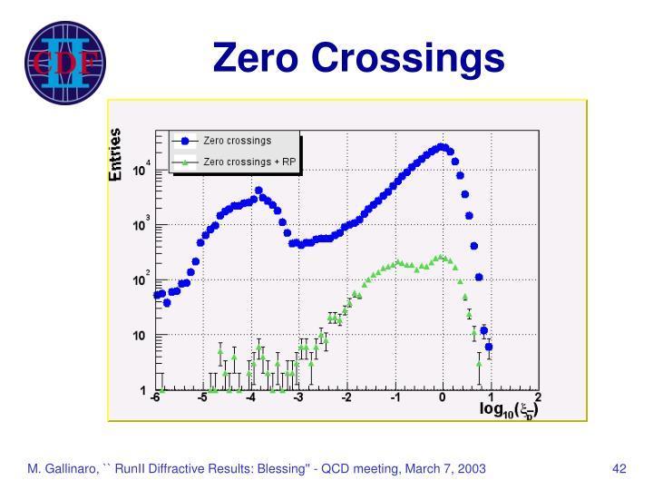 Zero Crossings