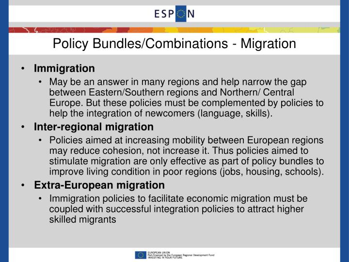 Policy Bundles/Combinations - Migration