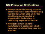 ndi premarket notifications1