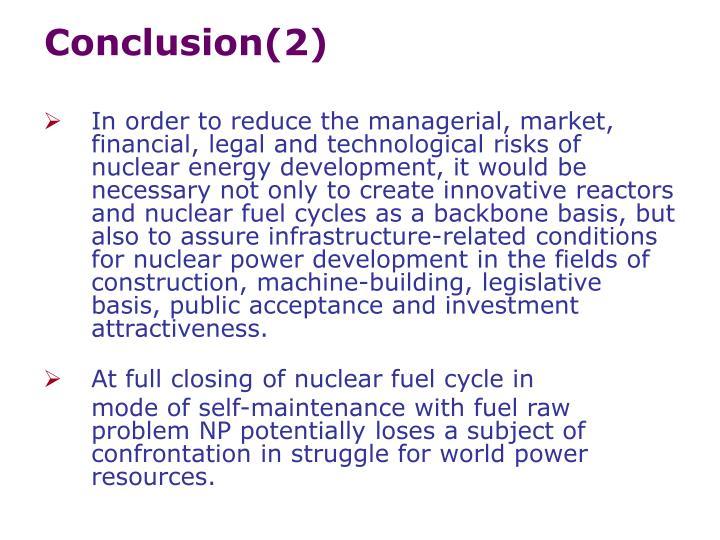 Conclusion(2)
