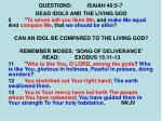 questions isaiah 46 5 71