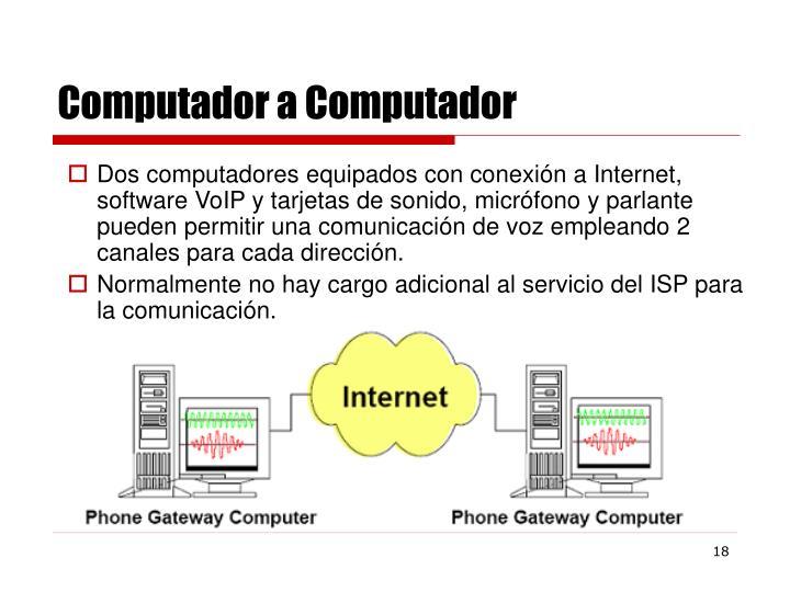 Computador a Computador
