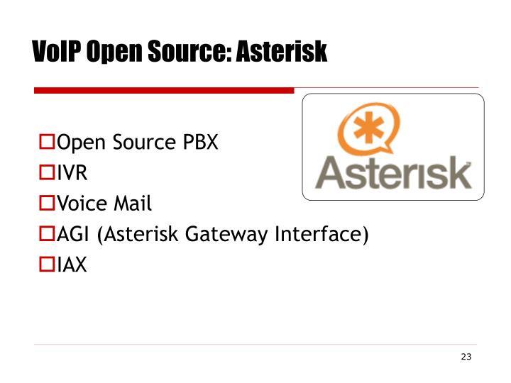 VoIP Open Source: Asterisk