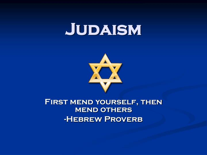Ppt Judaism Powerpoint Presentation Id4418857