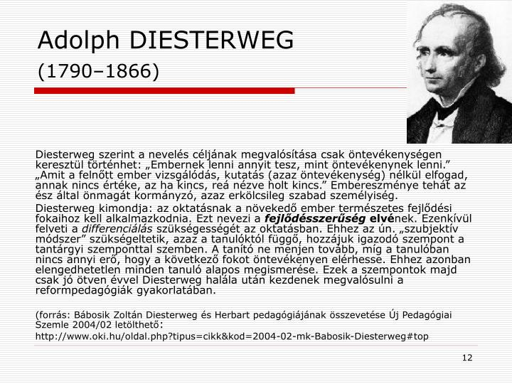 Adolph DIESTERWEG