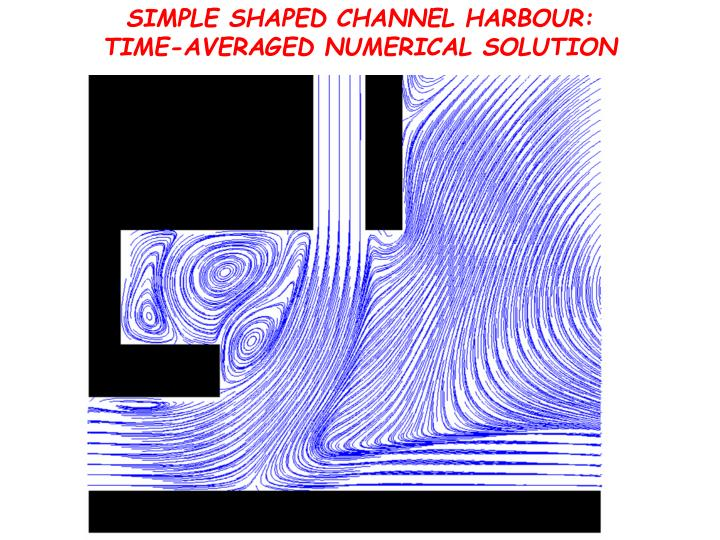 SIMPLE SHAPED CHANNEL HARBOUR: