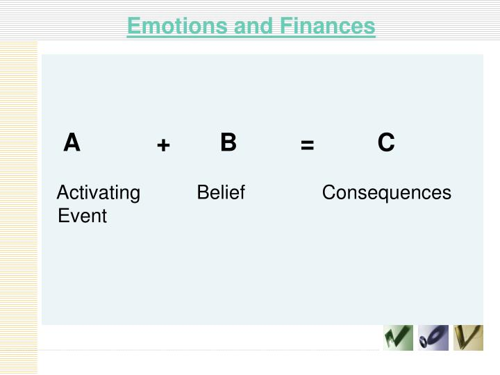 Emotions and Finances