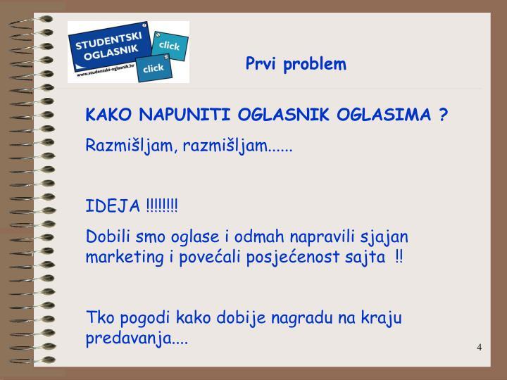 Prvi problem