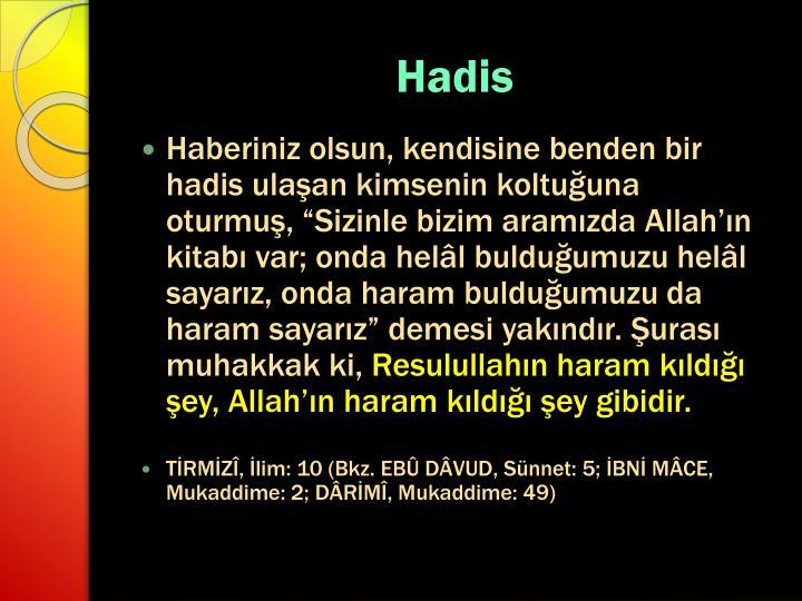 Hadis