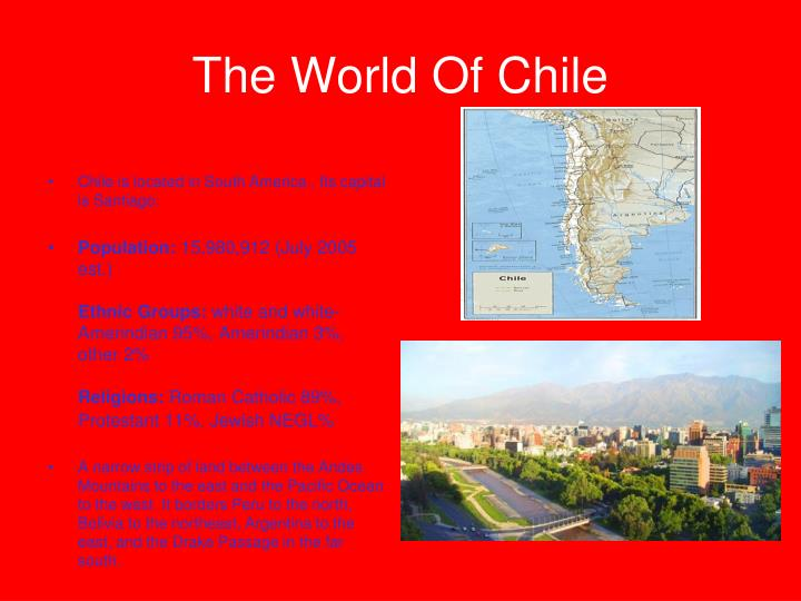 The world of chile