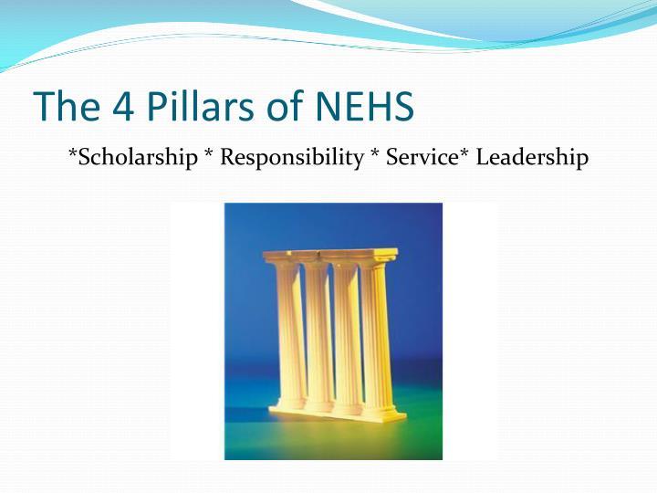 The 4 Pillars of NEHS