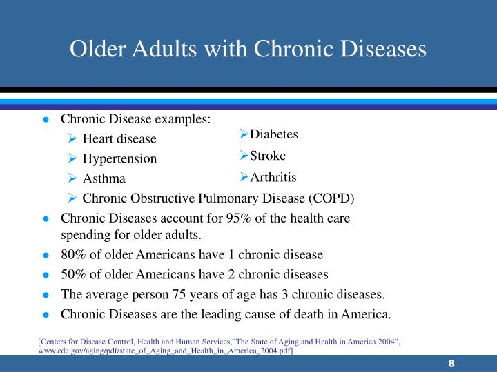 Older Adults with Chronic Diseases