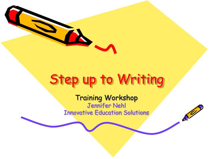 step up to writing n.