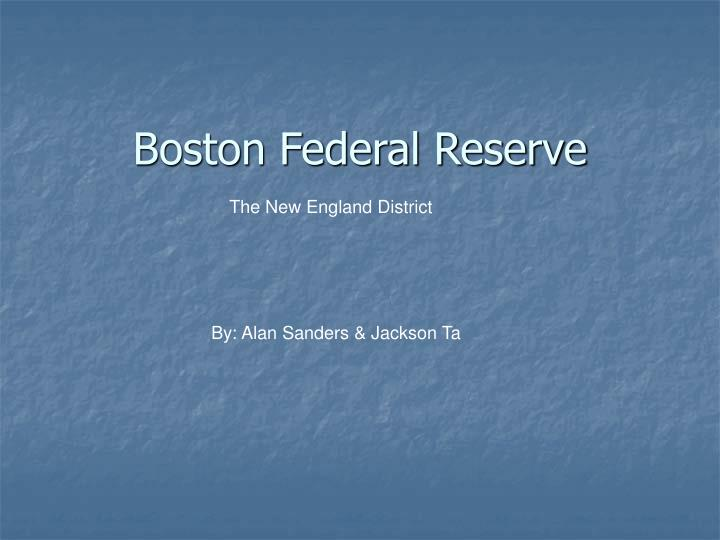 federal reserve powerpoint presentation essay