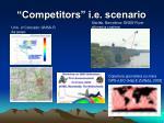 competitors i e scenario