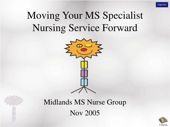 moving your ms specialist nursing service forward n.
