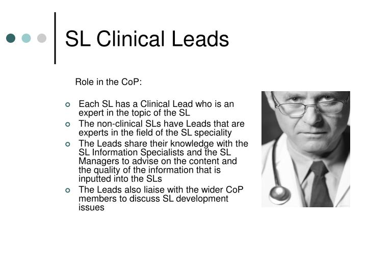 SL Clinical Leads