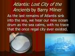 atlantis lost city of the ancients by barry milner4