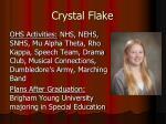 crystal flake