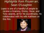 highlights from frozen arr sean o loughlin3