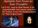 highlights from frozen arr sean o loughlin5