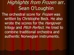 highlights from frozen arr sean o loughlin6