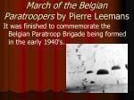 march of the belgian paratroopers by pierre leemans1