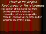 march of the belgian paratroopers by pierre leemans2