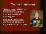 meghann ashman