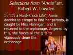 selections from annie arr robert w lowden2
