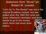 selections from annie arr robert w lowden4