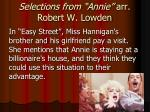 selections from annie arr robert w lowden5