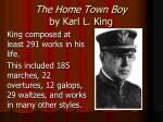 the home town boy by karl l king1