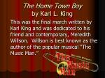the home town boy by karl l king2