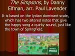 the simpsons by danny elfman arr paul lavender1
