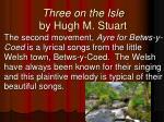 three on the isle by hugh m stuart1