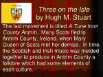 three on the isle by hugh m stuart2