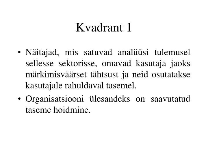 Kvadrant 1
