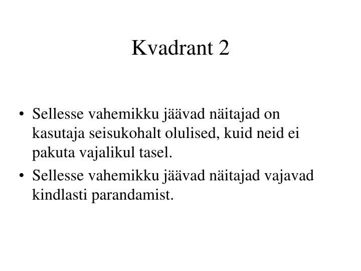 Kvadrant 2
