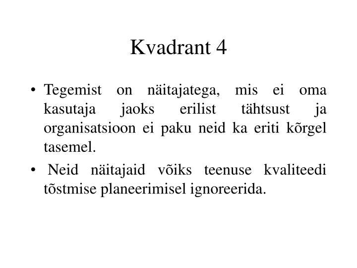 Kvadrant 4