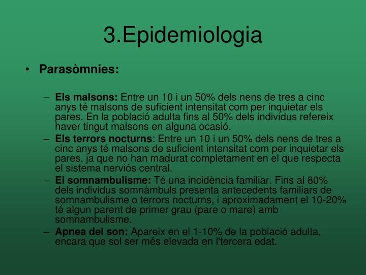3.Epidemiologia