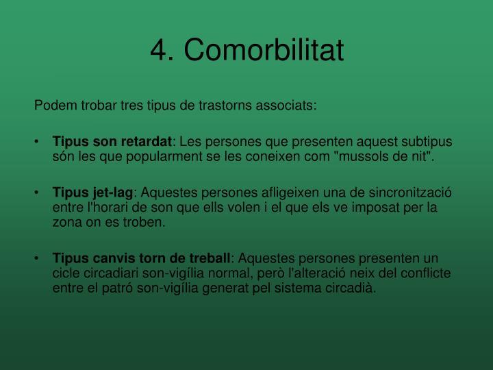 4. Comorbilitat