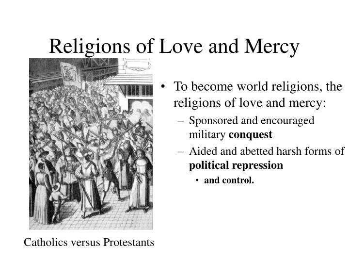 Religions of Love and Mercy