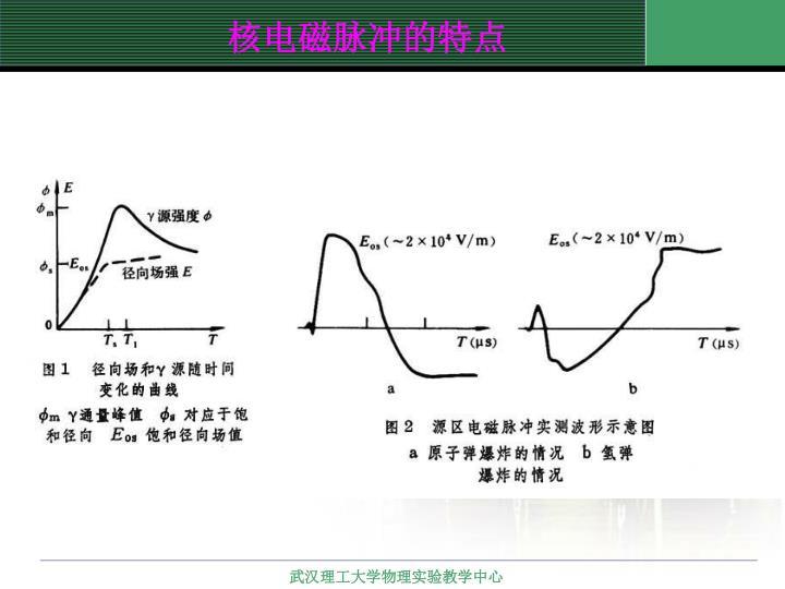 核电磁脉冲的特点