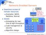 network enabled servers