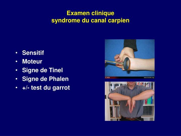 Examen clinique