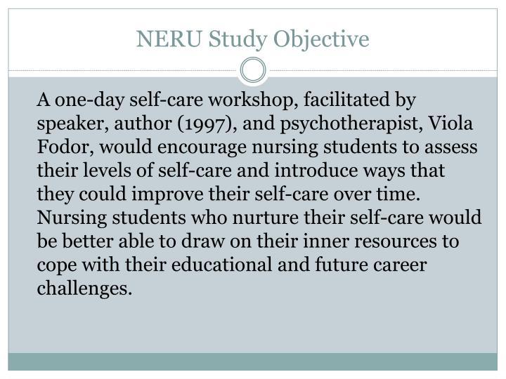 NERU Study Objective