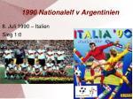 1990 nationalelf v argentinien